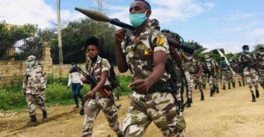 Militaire Ethiopie
