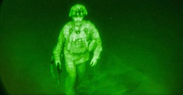 Dernière troupe américaine d'Afghanistan