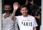 Arrivée de Lionel Messi au PSG