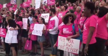 Manifestation contre l'avortement