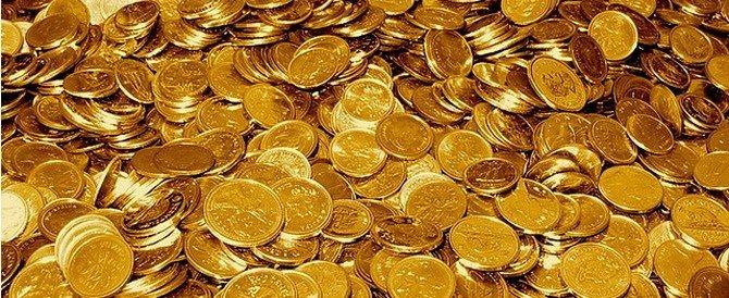 Des pièces d'or